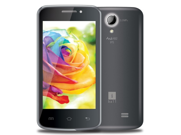 iBall Andi4-B2 IPS With Android 4.4 KitKat Launched at Rs. 6,299