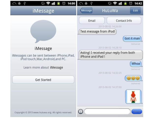 Stay away from third-party iMessage app for Android (Updated)