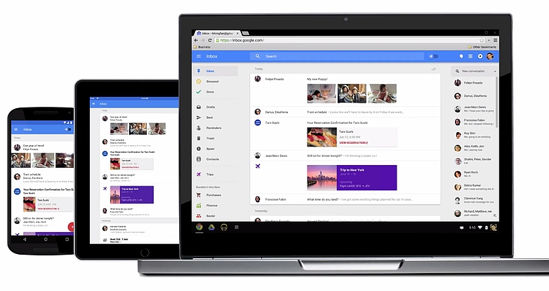 Inbox by Gmail for Web Gets 'Smart Reply' Feature