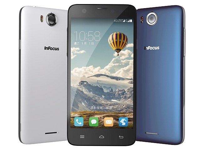 InFocus M530 With 13-Megapixel Front and Rear Cameras Launched at Rs. 10,999