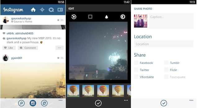 Instagram finally lands on Windows Phone, stripped of video uploads