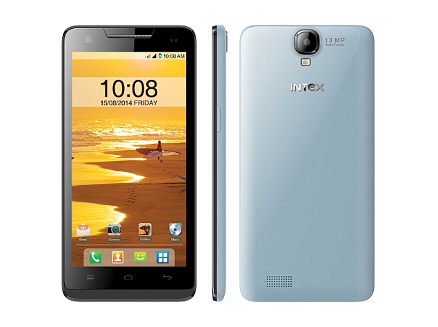 Intex Aqua Amaze With Android 4.4.2 KitKat Launched at Rs. 10,690