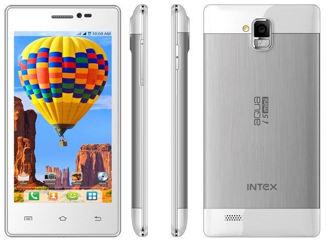 Intex Aqua i5 Mini with 4.5-Inch Display Listed on Company's Site
