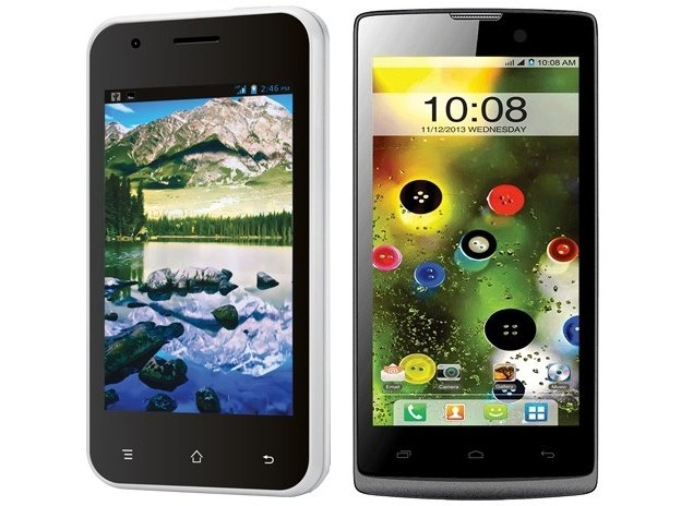 Intex Aqua N8 and Cloud X12 with Android 4.2 listed on company's website
