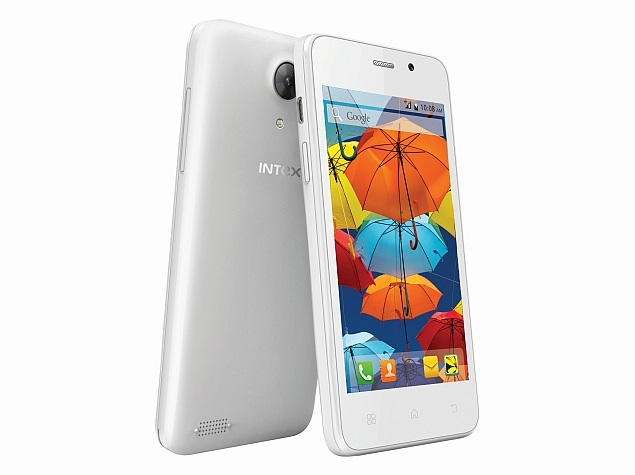 Intex Aqua Style Mini With 4-Inch AMOLED Display Launched at Rs. 4,800