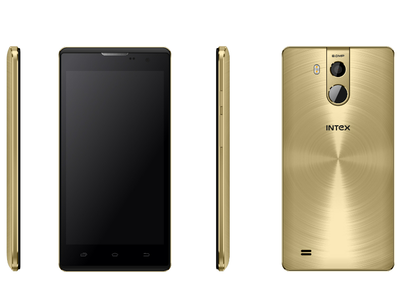 Intex Cloud String V2.0 With Fingerprint Scanner Launched at Rs. 6,499