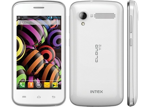 Intex Cloud Y12 with 3G support, Android 4.2 launched at Rs. 5,390