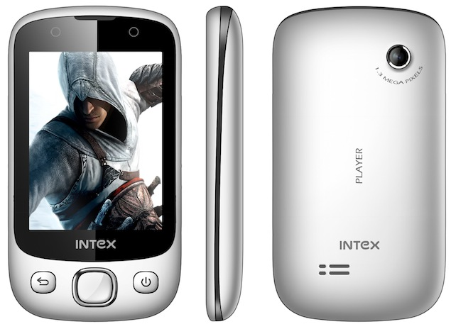 Intex Player, gaming-focussed handset, launched for Rs. 2,790