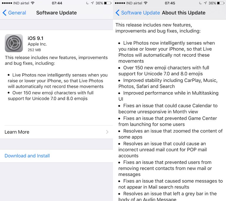 iOS 9.1, OS X 10.11.1 With New Emojis and More Now Available for Download