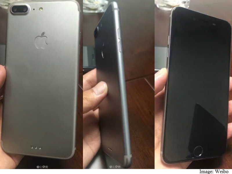 iPhone 7 Plus Leaked Images Tip Dual Cameras Addition, Mute Switch Removal