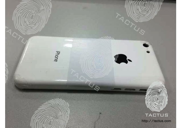 Purported pictures of cheaper iPhone's plastic rear shell surface