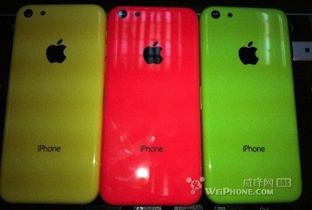 Purported pictures of cheaper iPhone's rear shell reveal Red, Yellow and Green colour variants