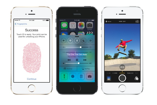 10 new features in Apple's iPhone 5s