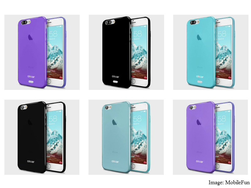 iphone 7 plus case renders tip dual camera setup smart connector technology news. Black Bedroom Furniture Sets. Home Design Ideas