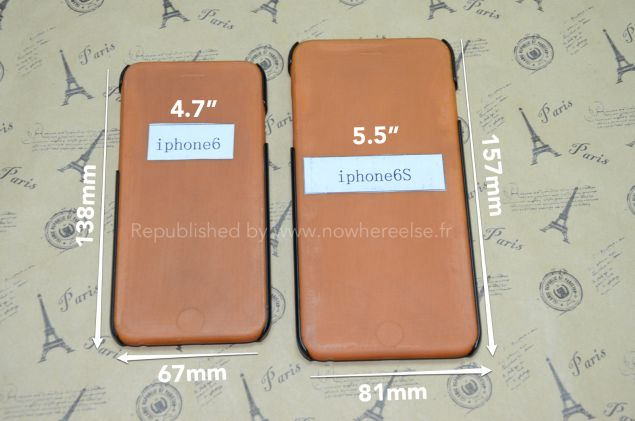 Alleged iPhone 6 Case Images Indicate Dimensions of Variants