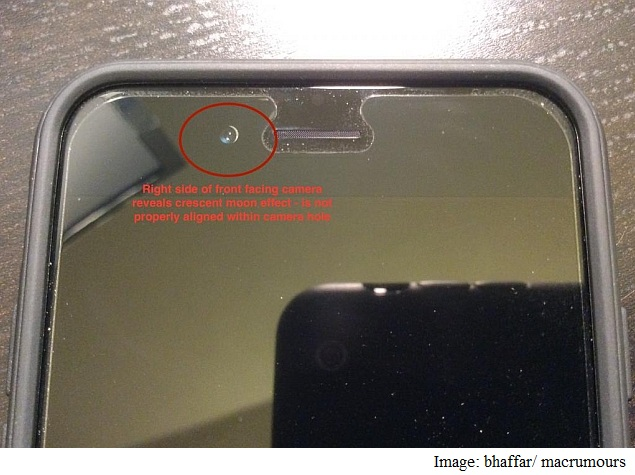 Some iPhone 6 Users Complaining of Misaligned Front-Facing Camera