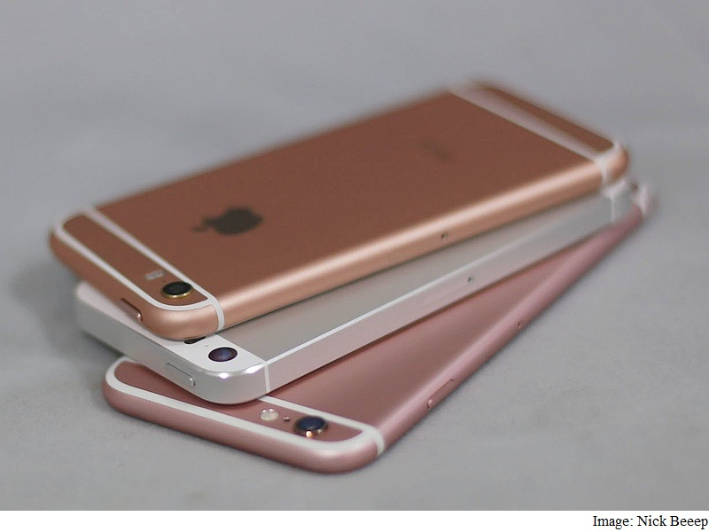 iPhone SE Purportedly Spotted in Video Alongside iPhone 6, iPhone 5s