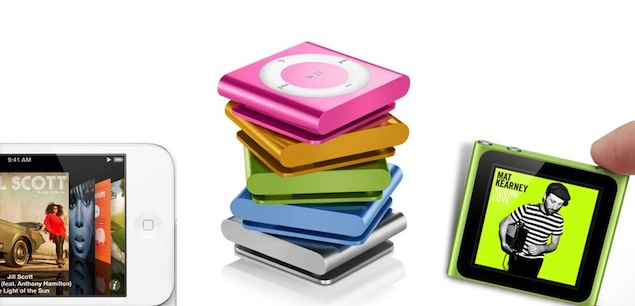Apple likely to refresh iPod line alongside new iPhone launch
