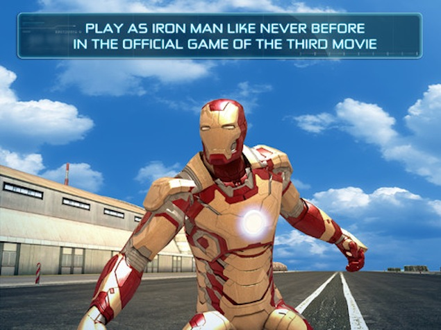 Iron Man 3 - The Official Game comes to iPhone, iPad and Android for free