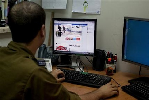 Israel and Hamas battle spills over to social media