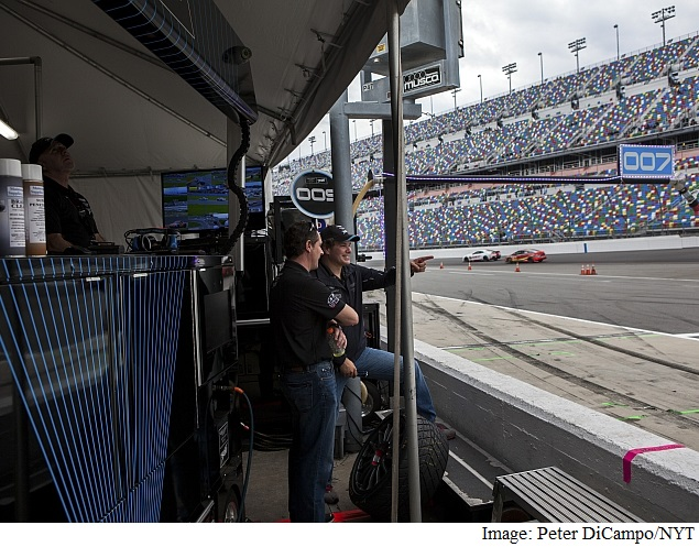 In Silicon Valley, Auto Racing Becomes a Favorite Hobby for Tech Elites