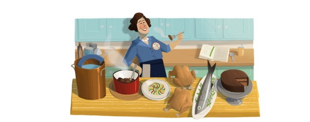 Julia Child birth centenary marked by Google doodle