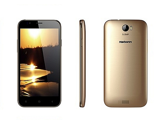 Karbonn Aura With 5-Megapixel Camera Launched at Rs. 4,990
