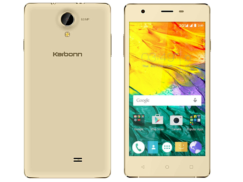 Karbonn Fashion Eye With 8-Megapixel Camera Now Available Online at Rs. 5,490