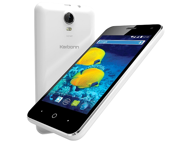 Karbonn S15 With 4-Inch Display, Quad-Core SoC Now Available at Rs. 3,830