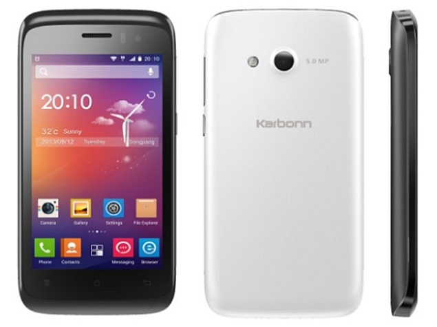 Karbonn Titanium S1 Plus with quad-core CPU available online at Rs. 5,749