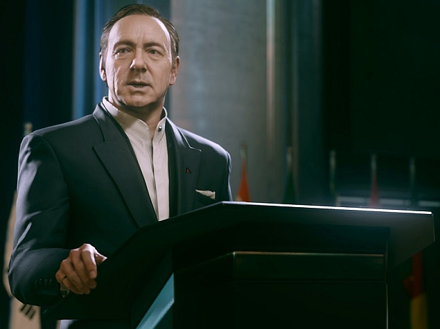 Call of Duty Soldiers to Battle Villain Kevin Spacey