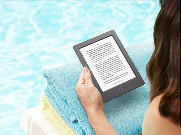 Kobo Unveils Aura H2O 'Premium Waterproof Ebook Reader'