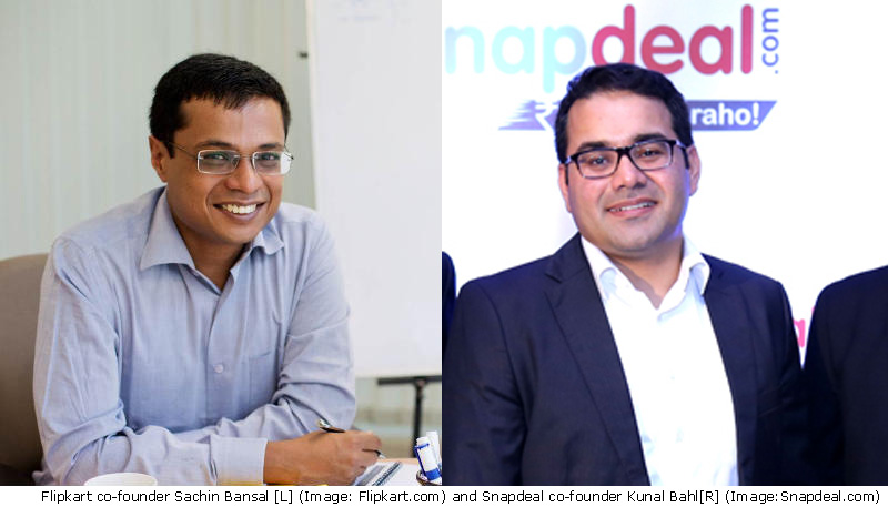 Shots Fired as Flipkart and Snapdeal CEOs Face Off on Twitter