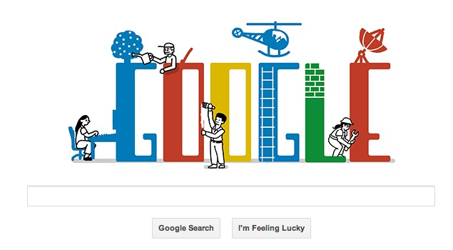 Labour Day 2013 marked by a Google doodle