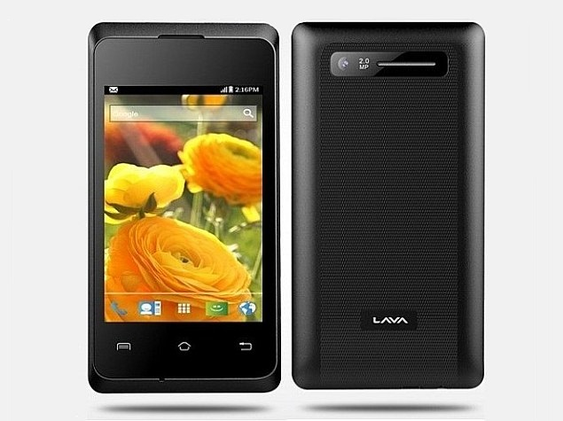 Lava Iris 350M Dual-SIM Android Smartphone Listed on Company Website
