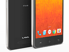 Lava Iris X1 Selfie With Front LED Flash Launched at Rs. 6,777