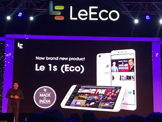LeEco Le 1s Eco With 5.5-Inch Display, Fingerprint Sensor Launched at Rs. 10,899