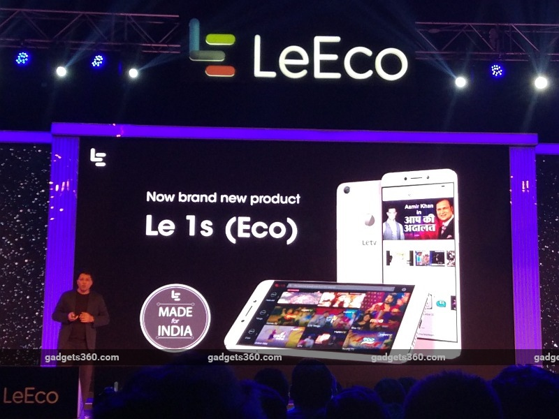 LeEco Le 1s (Eco) With 5.5-Inch Display, Fingerprint Sensor Launched at Rs. 10,899