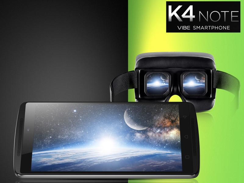 Lenovo Vibe K4 Note With 5.5-Inch Full-HD Display, 3GB of RAM Launched at Rs. 11,999