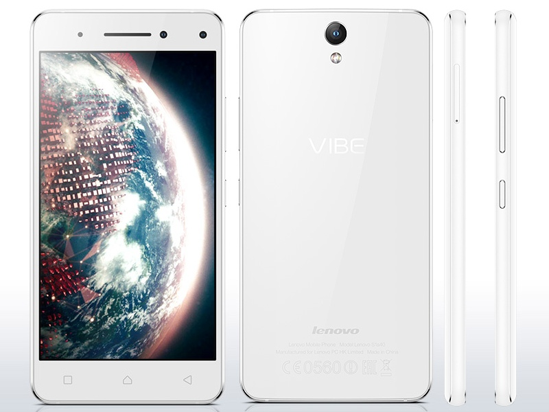 Lenovo Vibe S1 With Dual Front Cameras Launched in India