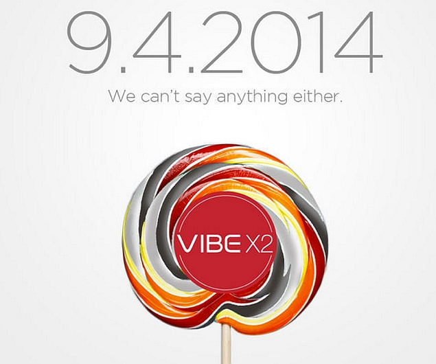 Lenovo Vibe X2 With Android 'Lollipop' Teased for September 4 Launch