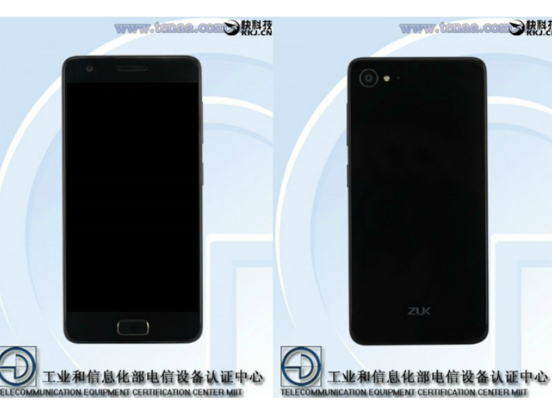 Lenovo Zuk Z2 Gets Listed on Certification Site With Images, Specifications