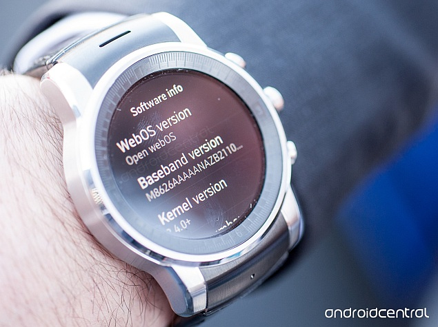 LG's Audi Smartwatch Runs Open webOS Not Custom Android Wear: Report