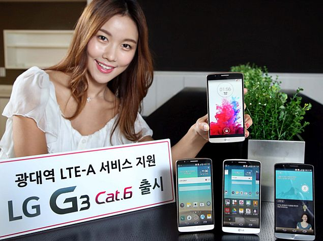LG G3 Cat.6 With 5.5-Inch QHD Display, Snapdragon 805 Launched