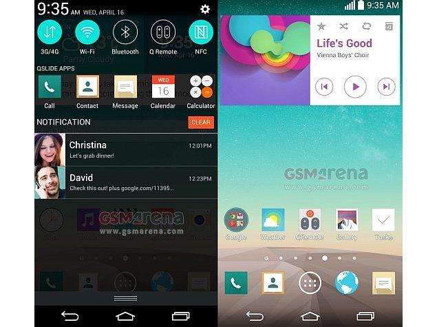 Purported LG G3 screenshots flaunt new 'flat' UI on QHD