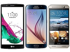 LG G4 vs Samsung Galaxy S6 vs HTC One M9+