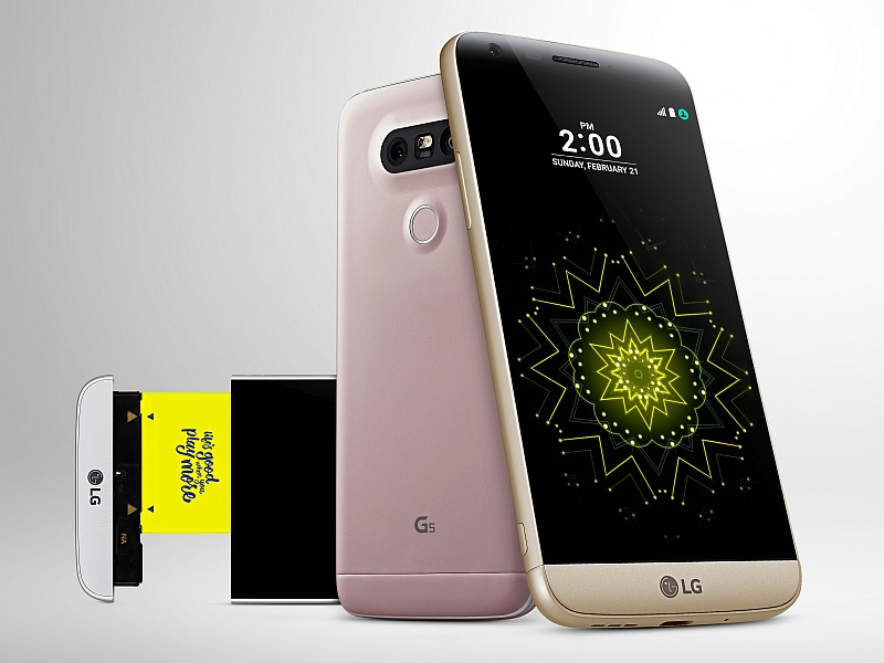 LG G5 Modular Smartphone India Launch Set for June 1