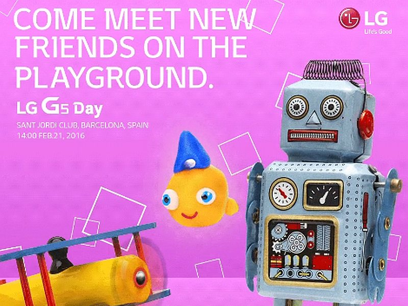 LG G5 Launch Set for February 21, Ahead of MWC 2016