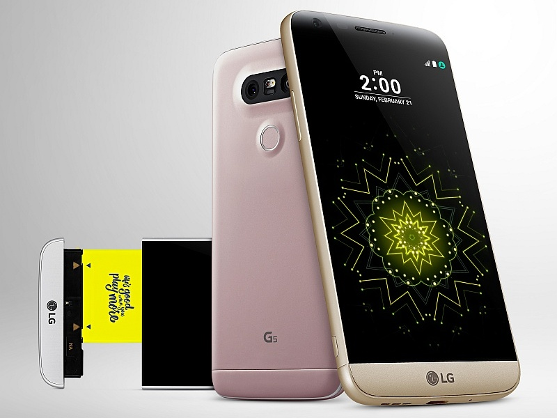 LG G5 With Snapdragon 820, Modular Add-Ons, Dual Rear Cameras Launched