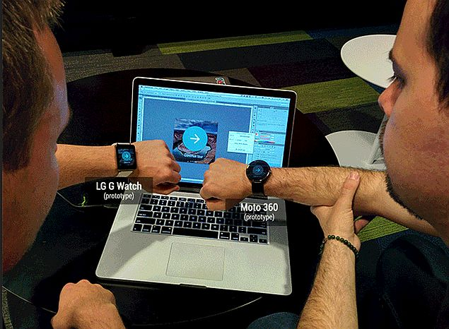 LG G Watch, Moto 360 Smartwatches Shown-Off on Android Developers Blog